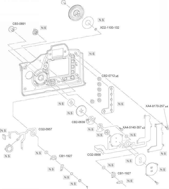 parts catalog - canon eos 10d repair