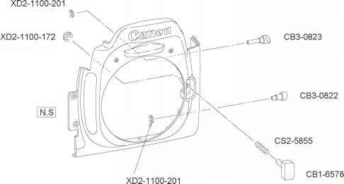 parts catalog canon eos 10d repair canon camera experts rh cameraexperts us Canon D20 Manual Canon EOS 50D
