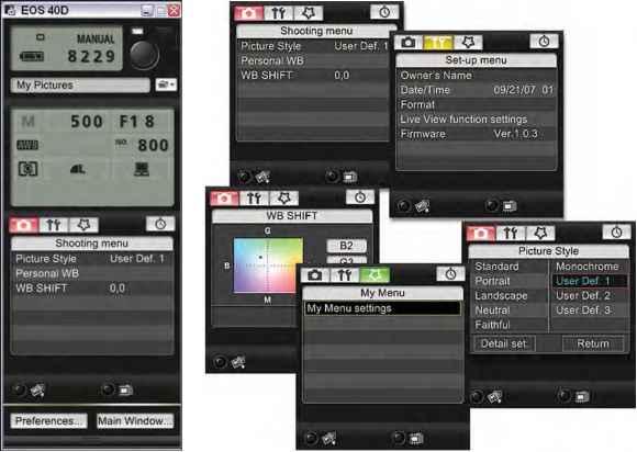Picture Style Editor - Canon EOS 40D Guide - Canon Camera